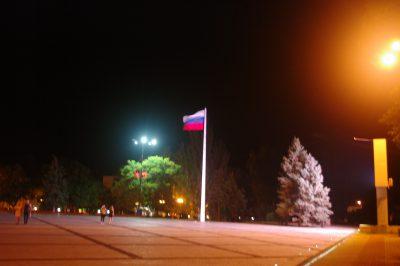 вьется знамя на ветру
