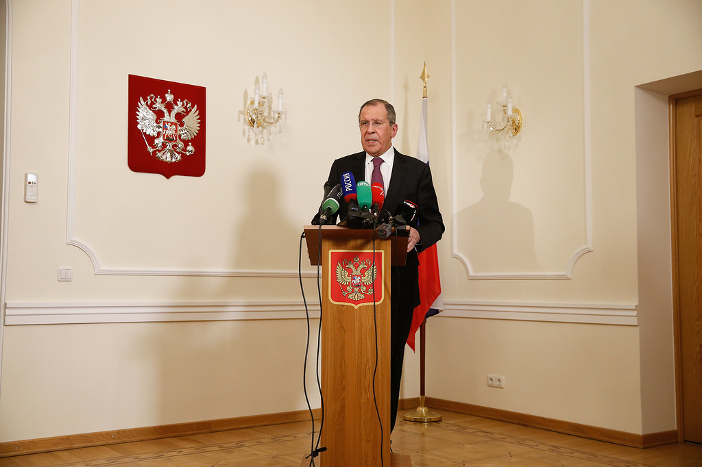 Пресс-подход С.Лаврова