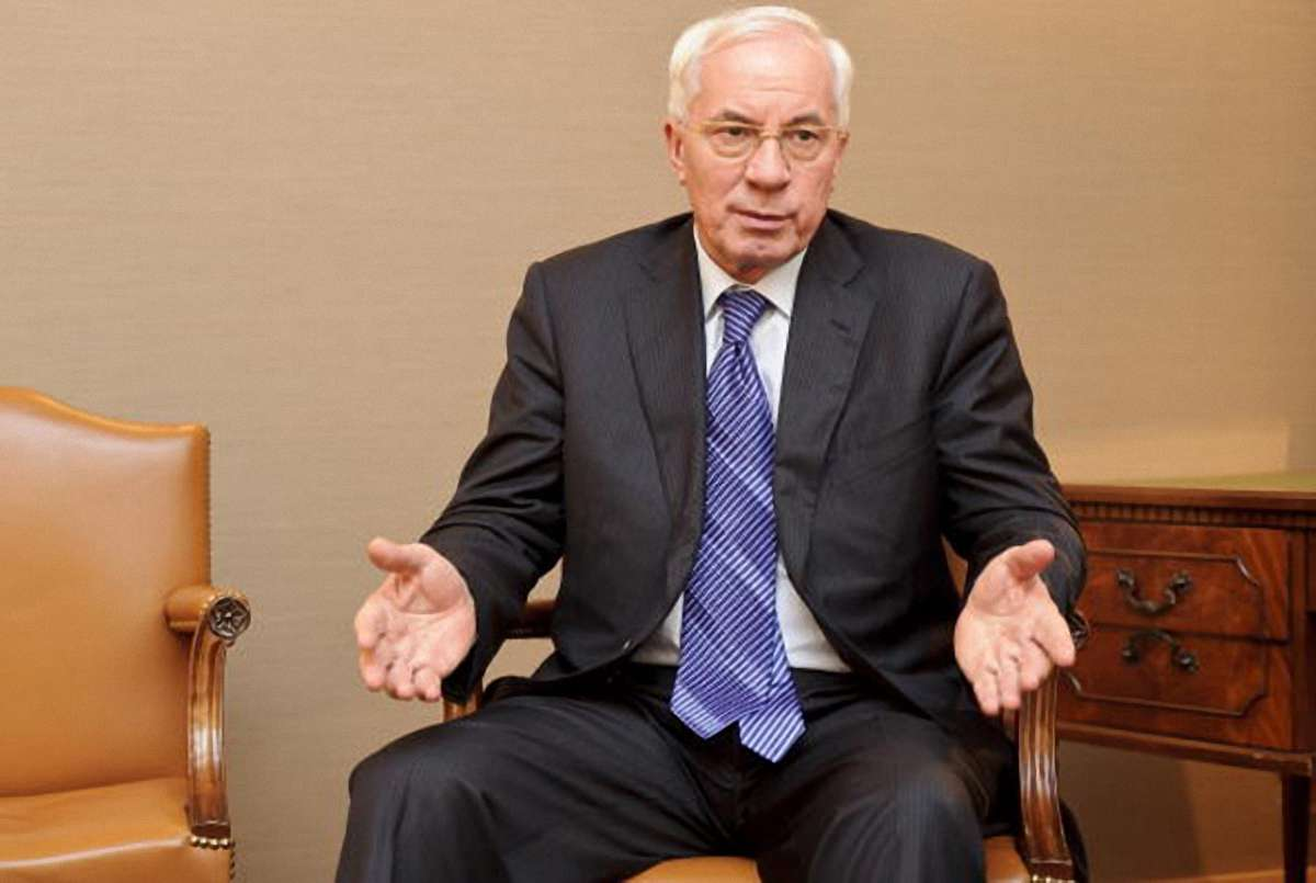 Mykola Azarov, Ukraine's prime minister, speaks during an interview at the European Parliament building in Brussels, Belgium, on Wednesday, Oct. 13, 2010. Azarov said he would like to discuss a revision of the country's gas contract with Russia when he meets with Prime Minister Vladimir Putin on Oct. 27. Photographer: Jock Fistick/Bloomberg via Getty Images