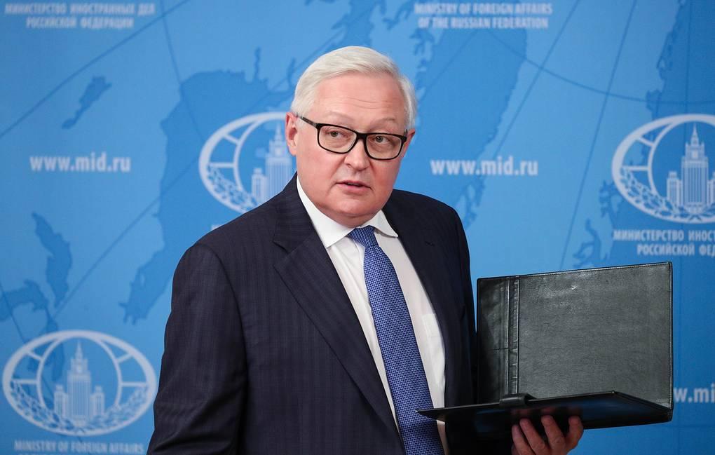 MOSCOW, RUSSIA - MAY 18, 2020: Russia's Deputy Foreign Minister Sergei Ryabkov seen after giving an online lecture for students of the Moscow State Institute of International Relations (MGIMO University). Russian Foreign Ministry Press Office/TASS  Ðîññèÿ. Ìîñêâà. Çàìåñòèòåëü ìèíèñòðà èíîñòðàííûõ äåë ÐÔ Ñåðãåé Ðÿáêîâ ïîñëå îíëàéí-ëåêöèè äëÿ ñòóäåíòîâ ÌÃÈÌÎ. Ïðåññ-ñëóæáà Ìèíèñòåðñòâà èíîñòðàííûõ äåë ÐÔ/ÒÀÑÑ